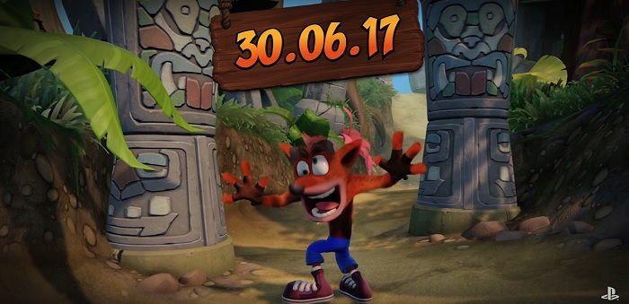 Crash Bandicoot N. Sane Trilogy se estrena 30 junio en ps4 pro