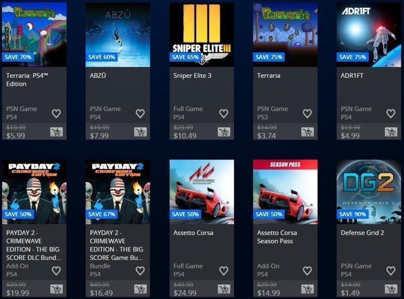 oferta de 505 games 07-03 en psn store usa