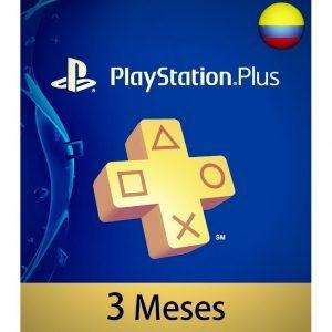 playstation plus 3 meses colombia membresía ps4