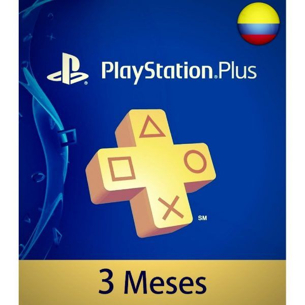 playstation plus 3 meses colombia membresía ps4