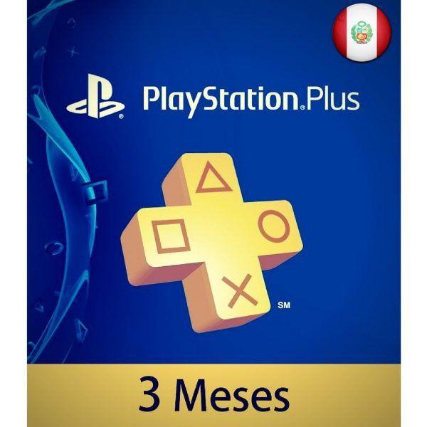 playstation plus 3 meses perú en psn store