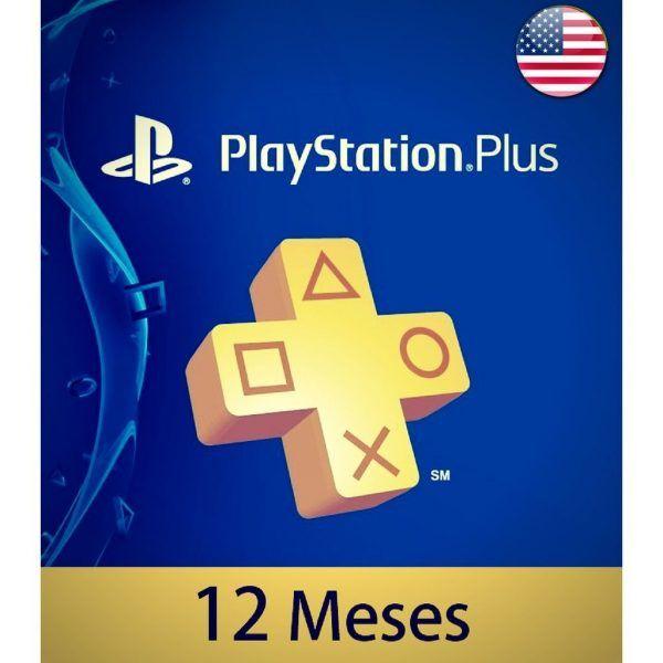 playstation plus 12 meses USA en psn store