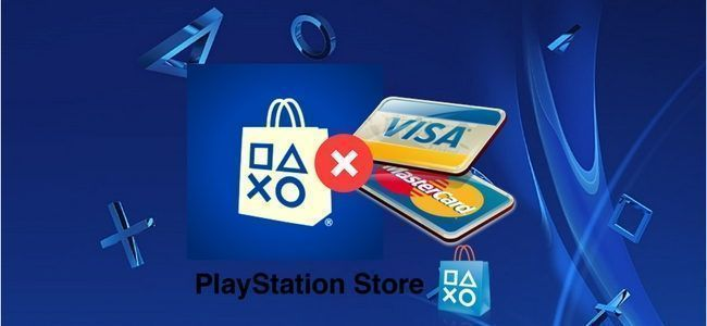 error al ingresar tarjeta de crédito y como solucionarlo en psn store