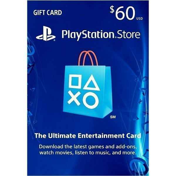 psn card 60 usd en playstation store ps4