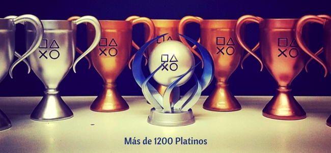 Hakoom con más de 1200 trofeos Platinos en playstation network