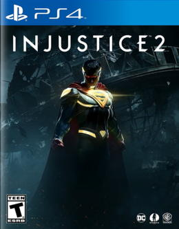 portada de injustice 2 para playstation 4