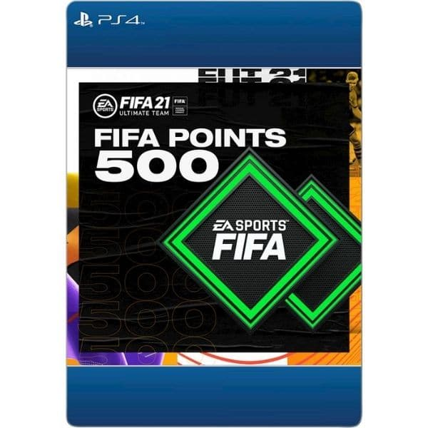500 fifa points ps4 ps5