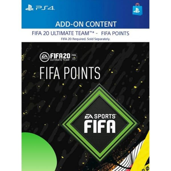 fifa points ps4 fifa 20 ultimate team fut