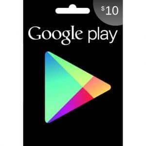 tarjeta google play 10 usd usa