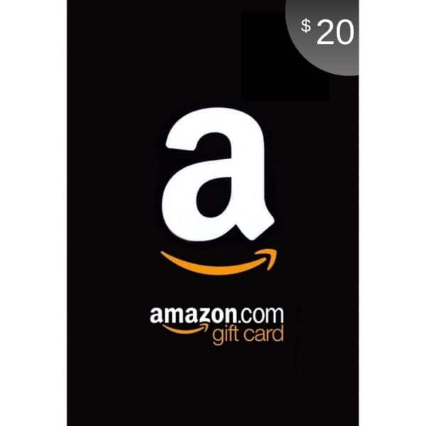 amazon gift card 20 usd usa scheda up
