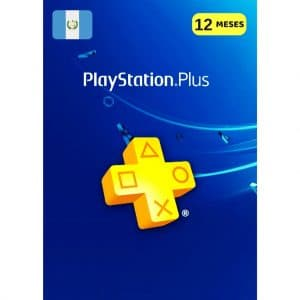 playstation plus 12 meses guatemala membresia ps4