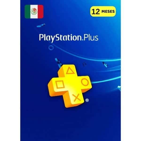 playstation plus 12 meses méxico membresia ps4 ps5