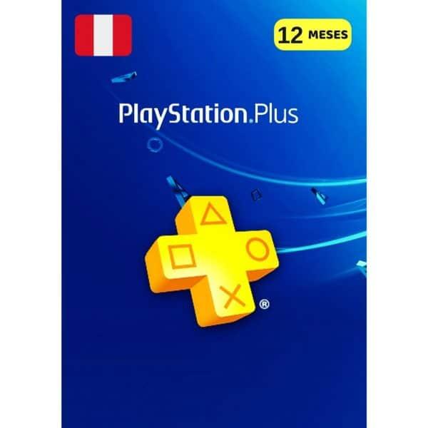 playstation plus 12 meses peru membresia ps4 ps5