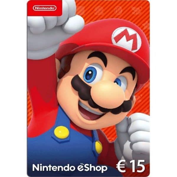 nintendo eshop 15 euros espana europeo nintendo switch 3ds