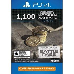 1100 cod points modern warfare ps4 ps5