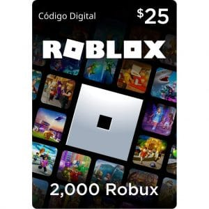 2000 robux roblox gift card 25 usd