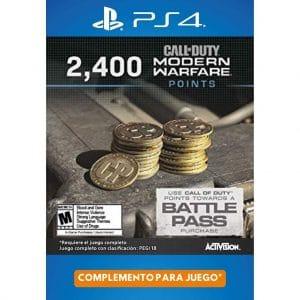 2400 cod points modern warfare ps4 ps5