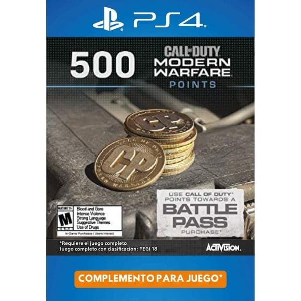 500 cod points modern warfare ps4 ps5