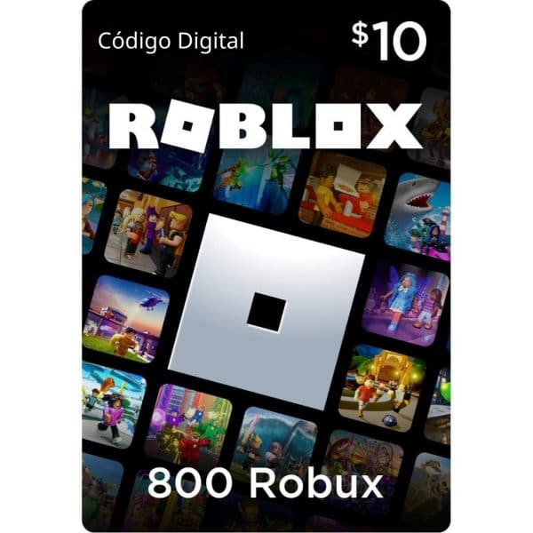 800 robux roblox game card