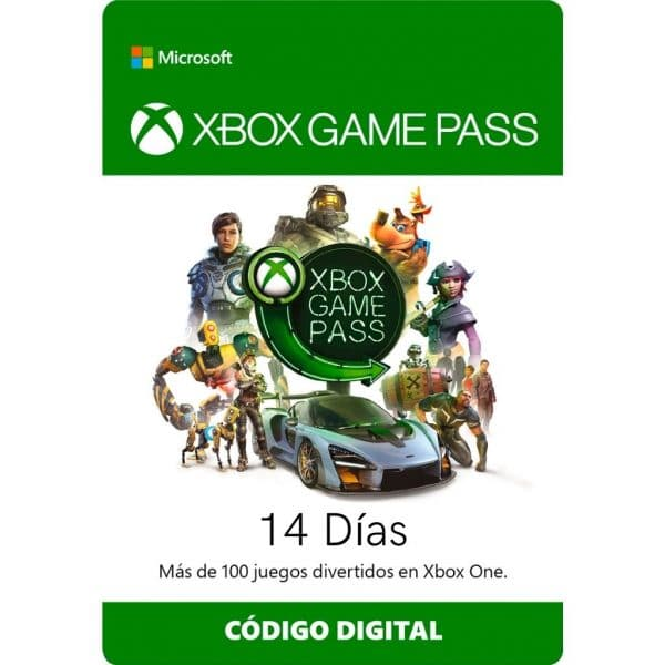xbox game pass 14 dias prueba xbox one