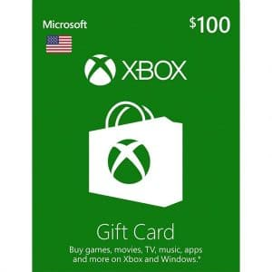xbox gift card 100 usd usa xbox one 360