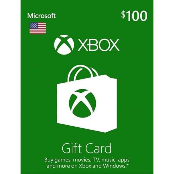 xbox gift card 100 usd usa xbox one 360