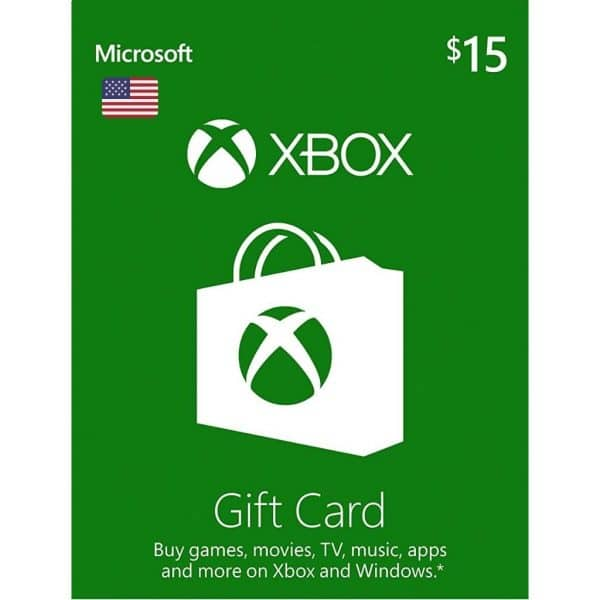 xbox gift card 15 usd usa xbox one 360