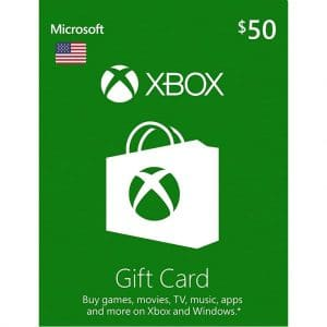 xbox gift card 50 usd usa xbox one 360