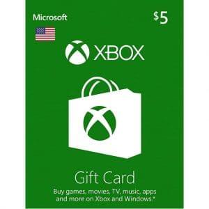 xbox git card 5 usd xbox one usa