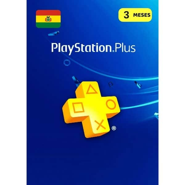 playstation plus 3 meses bolivia ps5 ps4 membresia ps plus