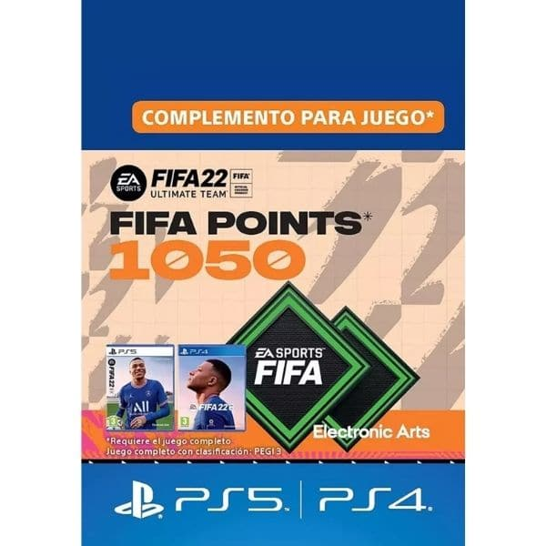 1050 fifa points ps4 ps5 fifa 22 fut ultimate team