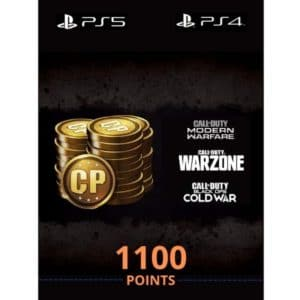 1100 cod points ps5 ps4 call of duty modern warfare black ops warzone