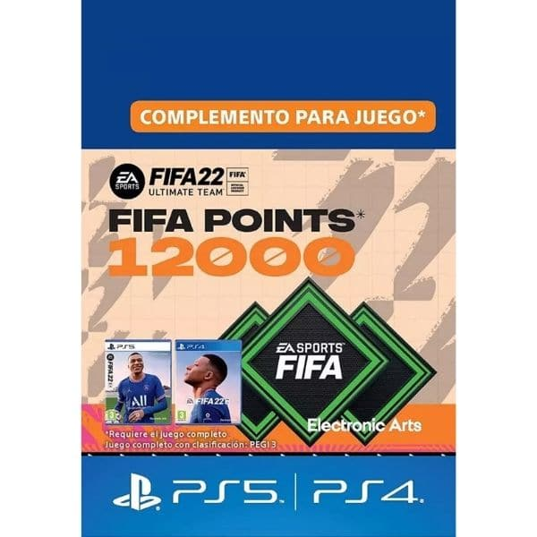 12000 fifa points ps4 ps5 fifa 22 fut ultimate team