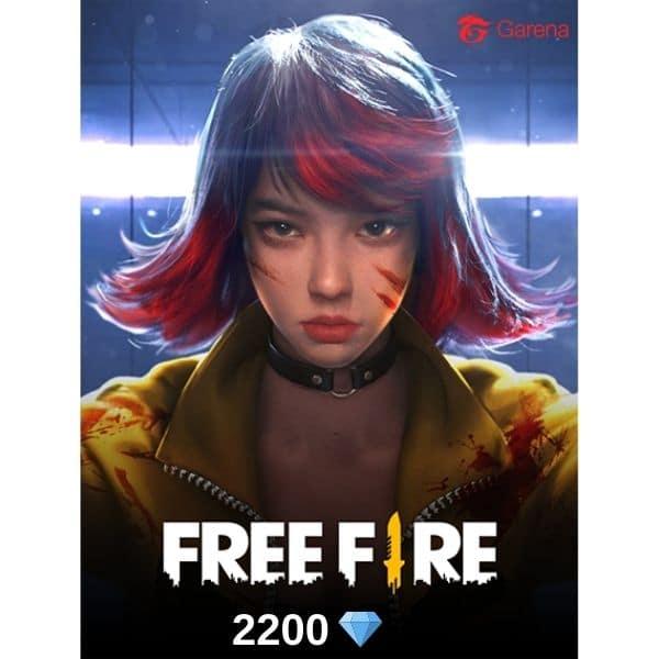 2200 diamantes free fire garena