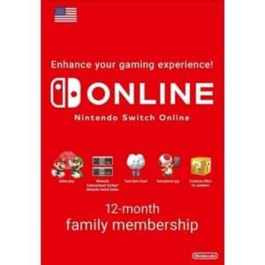 nintendo switch online familiar 12 meses usa nintendo eshop