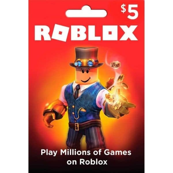 roblox gift card 5 usd 400 robux global