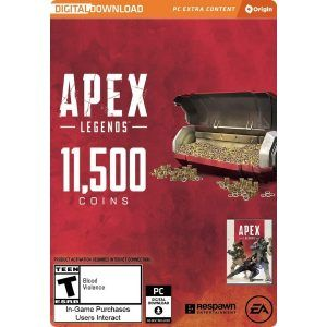 apex legends 11500 monedas apex pc origin ea sports