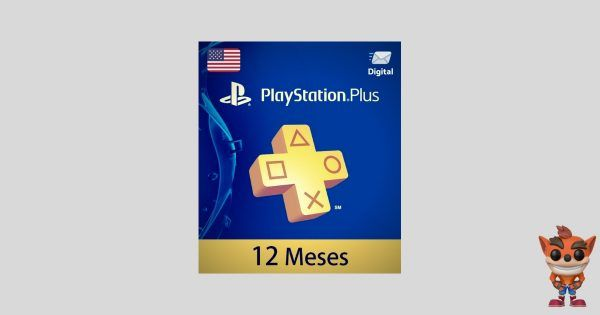 playstation plus 12 meses usa para ps4