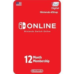 nintendo switch online 12 meses usa para consola nintendo switch