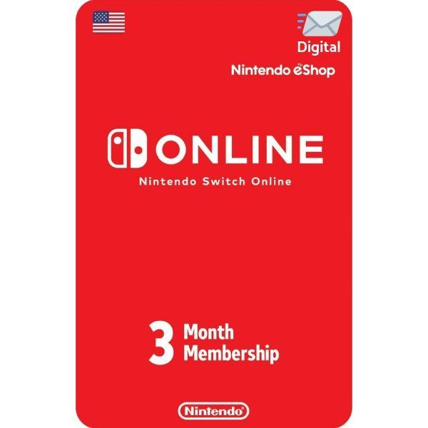 nintendo switch online 3 meses usa para consola switch
