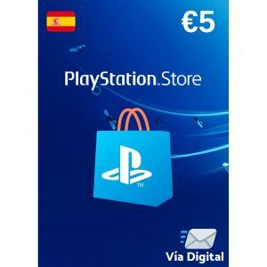 psn 5 euros españa- playstation network 5€ en la ps4, ps3, ps vita