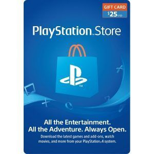 psn card 25 usd para ps4 en psn store